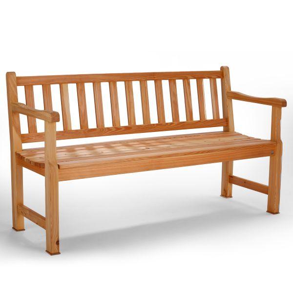 Gartenbank Lärchenholz 3-Sitzer