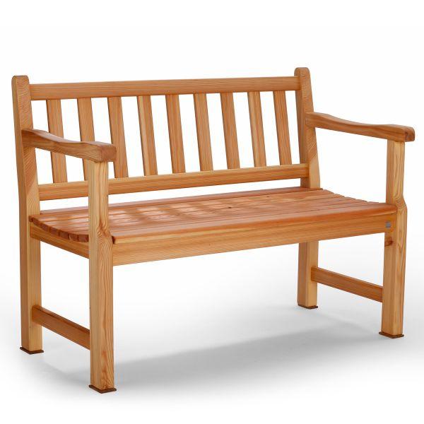 Gartenbank Lärchenholz 2-Sitzer