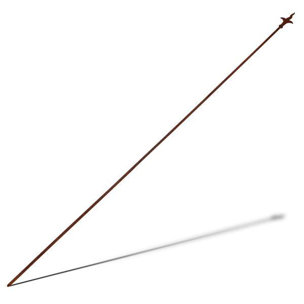 Pflanzenstab, Edelrost 190 cm