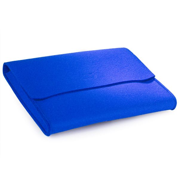 Briefblockmappe blau