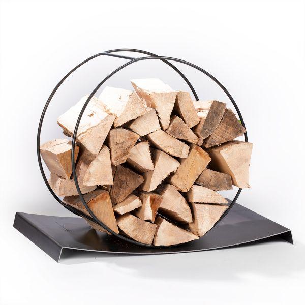 Holzlege mit Auffangwanne
